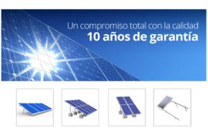 montajes paneles solares